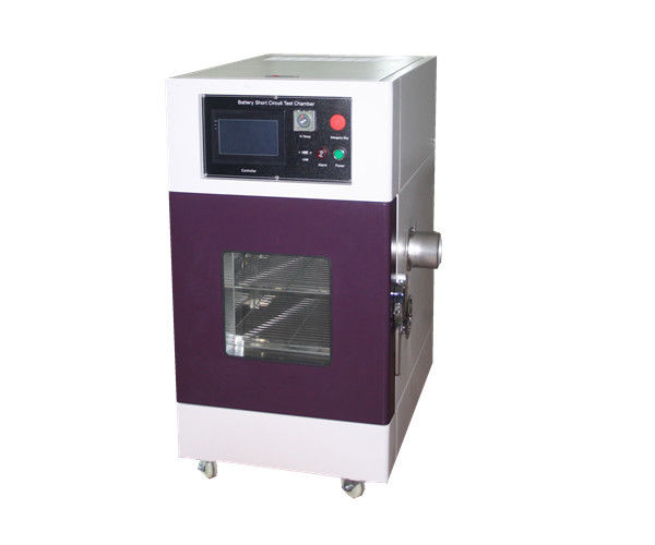 External Short Circuit Testing Equipment with Short Circuit Upto Voltage 100V Current 1000A